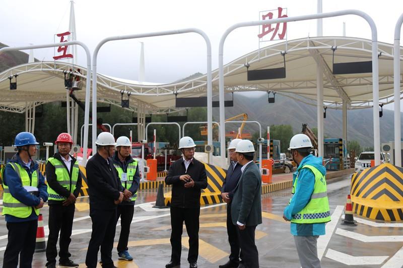 省交控集团党委书记、董事长竺向东调研指导西互项目建设工作
