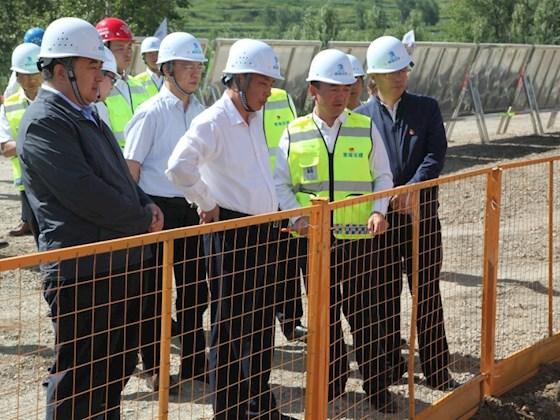 匡湧副省长调研指导西互高速公路项目建设