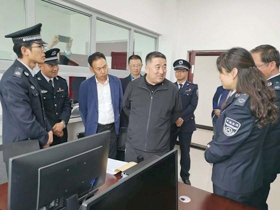 陶永利总经理赴西宁北收费站调研督导收费运营服务提升工作